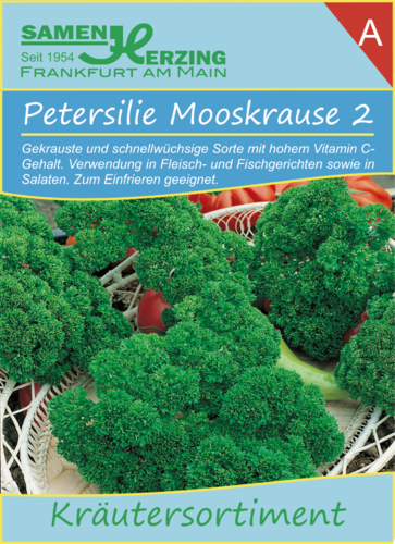 Petersilie Mooskrause 2, 2 g